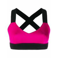 No Ka' Oi Top Esportivo Cropped - Rosa