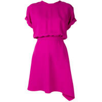 Nº21 Asymmetrical Short Dress - Roxo