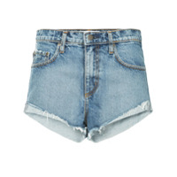Nobody Denim Boho Short Fray Marvelous - Azul