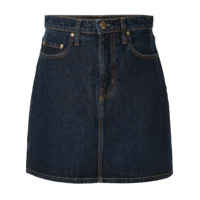 Nobody Denim Saia Jeans 'piper' - Azul