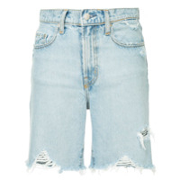 Nobody Denim Short jeans - Azul