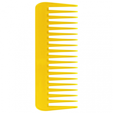 Color Comb Wide Amarelo - Pente