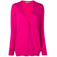 Odeeh Concealed Button Cardigan - Rosa