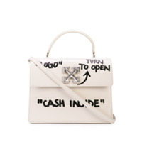 Off-White 2.8 Jitney Bag - Branco