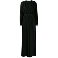 Off-White 80's-Inspired Belted Jumpsuit - Preto