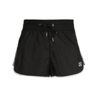 Off-White Jogging Shorts - Preto