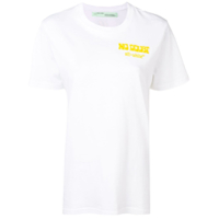 Off-White Camiseta No Doubt - Branco