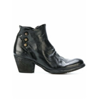 Officine Creative Ankle Boot De Couro 'giselle' - Preto