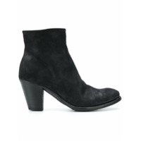 Officine Creative Ankle Boot 'plaisir' De Couro - Preto