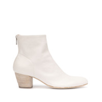 Officine Creative Ankle Boot Com Zíper Posterior - Branco