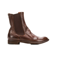 Officine Creative Bota Chelsea 'lexikon' - Marrom