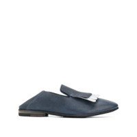 Officine Creative Lucy Fringe Loafers - Azul