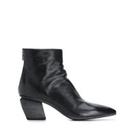 Officine Creative Pointed Ankle Boots - Preto