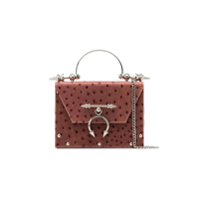 Okhtein Pink Mahogany On Brass Box Bag - Rosa