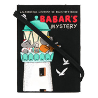 Olympia Le-Tan Clutch 'babar's Mistery' - Preto