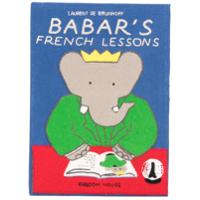 Olympia Le-Tan Clutch Livro 'babar's French Lessons' - Azul