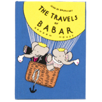 Olympia Le-Tan Clutch Livro 'the Travels Of Babar' - Azul