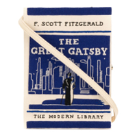Olympia Le-Tan Clutch 'the Great Gatsby' - Branco