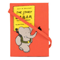 Olympia Le-Tan Clutch 'the Story Of Babar' - Laranja
