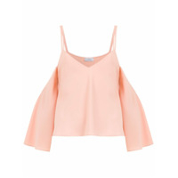 Olympiah Blusa 'cropped Titicaca' - Rosa