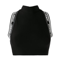 Opening Ceremony Top Cropped - Preto
