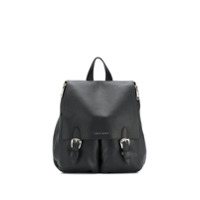 Orciani Double Buckle Backpack - Preto