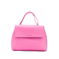 Orciani Logo Top-Handle Tote - Rosa