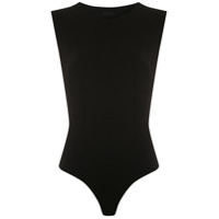 Osklen Body Open Side Cavado - Preto