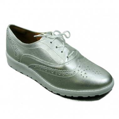 Oxford Dakota Plataforma Metalizado-Feminino