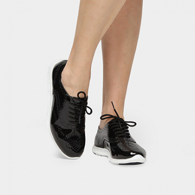 Oxford Via Marte Brogue -Feminino