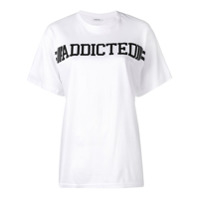 P.a.r.o.s.h. Camiseta 'addicted' - Branco