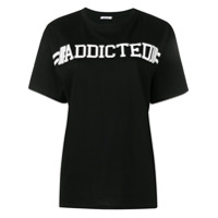 P.a.r.o.s.h. Camiseta 'addicted' - Preto