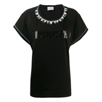 P.a.r.o.s.h. Camiseta Addicted - Preto