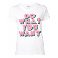 P.a.r.o.s.h. Camiseta Do What You Want - Branco