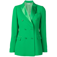 P.a.r.o.s.h. Double Breasted Blazer - Verde