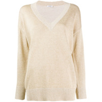 P.a.r.o.s.h. Relaxed-Fit Sweater - Dourado