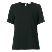 P.a.r.o.s.h. Short Sleeved Blouse - Preto