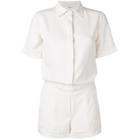 P.a.r.o.s.h. Short-Sleeved Playsuit - Neutro