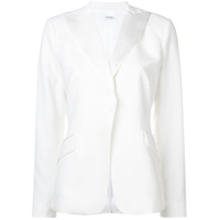 P.a.r.o.s.h. Single Breasted Blazer - Branco