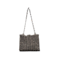 Paco Rabanne Metallic Silver Iconic 1969 Chainmail Shoulder Bag - Metálico