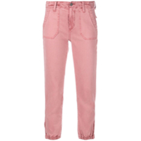 Paige Slim Fit Jeans - Rosa