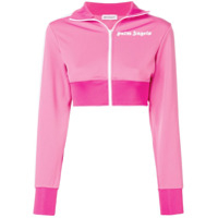 Palm Angels Jaqueta Esportiva Cropped - Rosa