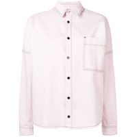 Palm Angels Logo Oversized Shirt - Rosa