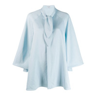Palomo Spain Knotted Shirt - Azul
