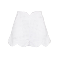 Paper London Short Com Bordado - Branco