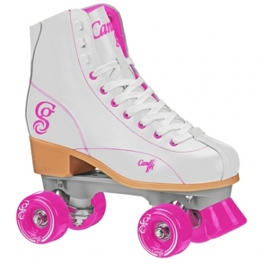 Patins Quad Elite Roller Derby Candi Girl Sabina White-Feminino