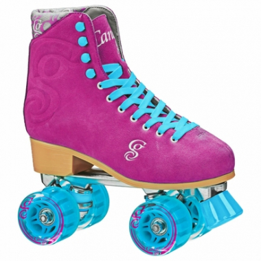 Patins Quad Roller Derby Candi Girl Carlin Raspberry-Feminino