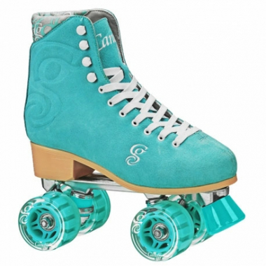 Patins Quad Roller Derby Candi Girl Carlin Seafoam (Espuma Do Mar)-Feminino