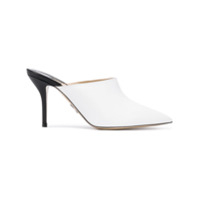 Paul Andrew Pointed Mules - Branco