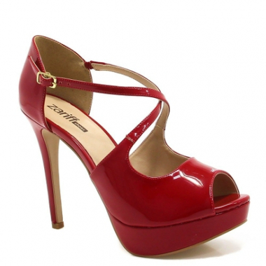 Peep Toe Zariff Shoes Feminino-Feminino